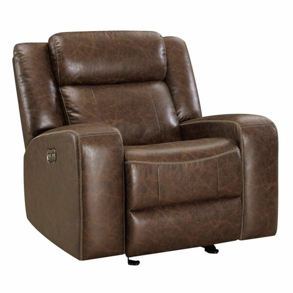 Nutrioso Faux Leather Power Glider Recliner W002736951
