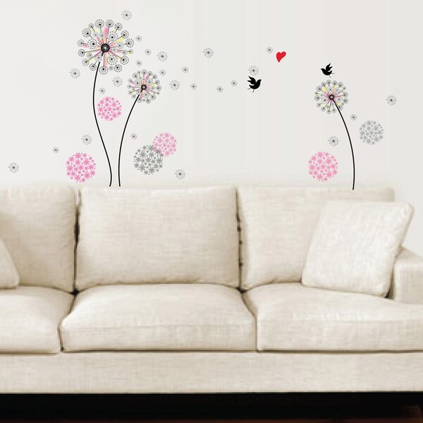 Goreville Dandelion Wall Decal by Zoomie Kids
