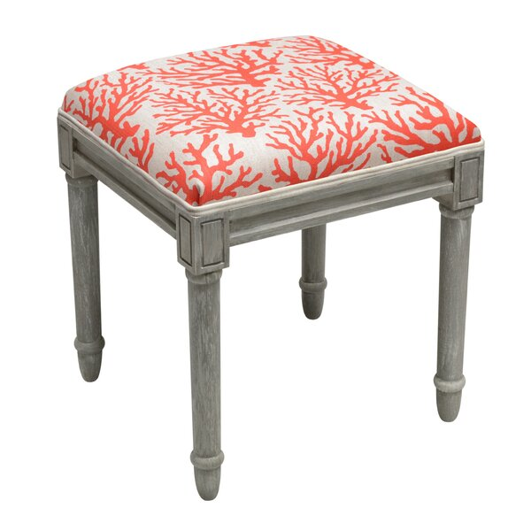 Coastal Vanity Stool by 123 Creations