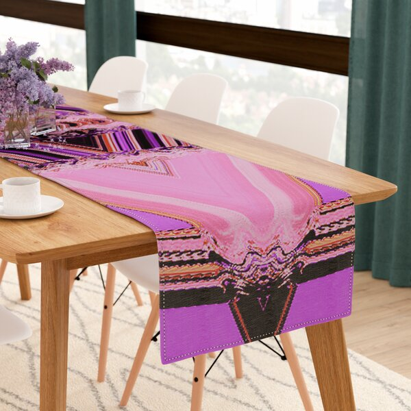 Nina May Decorama Table Runner by East Urban Home