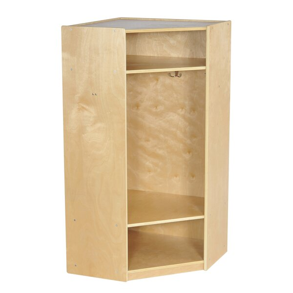 3 Tier 1 Wide Coat Locker by Offex