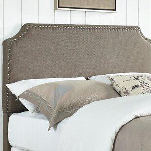 Luna Upholstered Panel Headboard By Mercury Row
