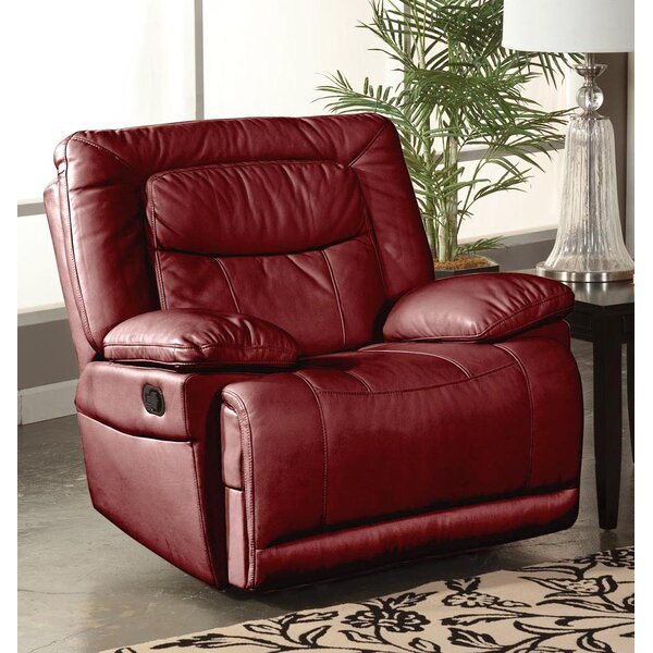 Gurav Manual Glider Recliner by Winston Porter