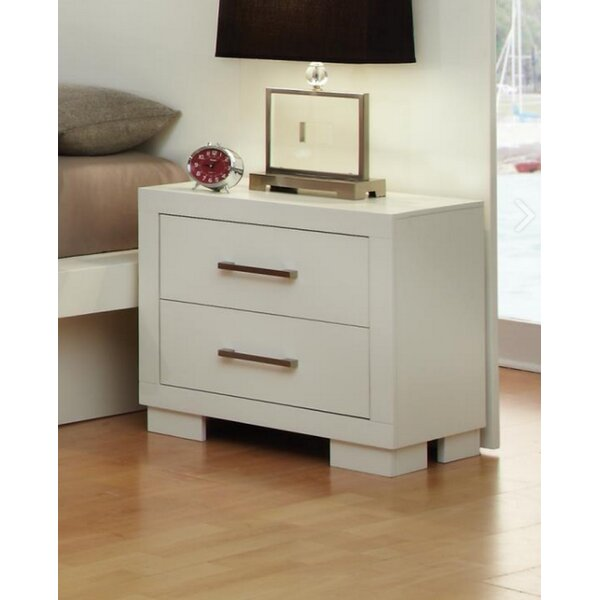 Hammes 2 Drawer Nightstand by Ebern Designs