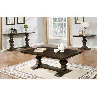 Buy clear Bellmont 3 Piece Coffee Table Set ByAstoria Grand