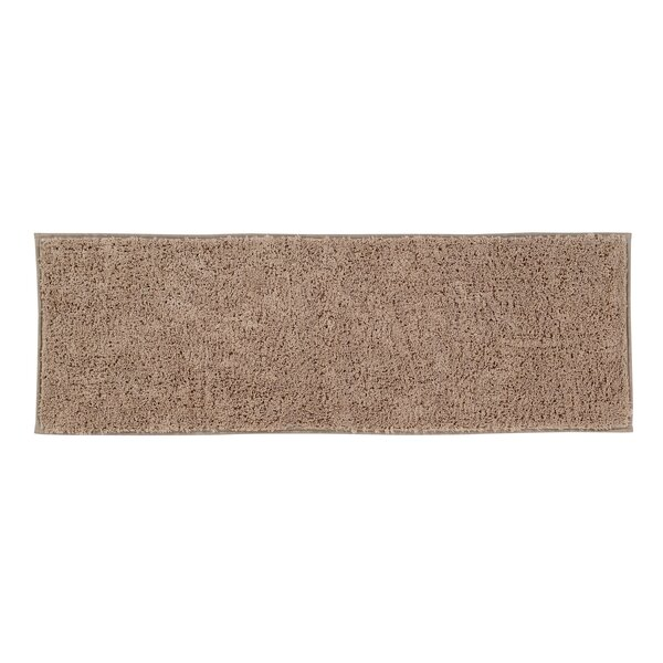 Charton Solid Plush Rectangle 100% Cotton Bath Rug