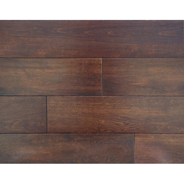 Harrington 4-3/4 Solid Maple Hardwood Flooring in Maple by Alston Inc.
