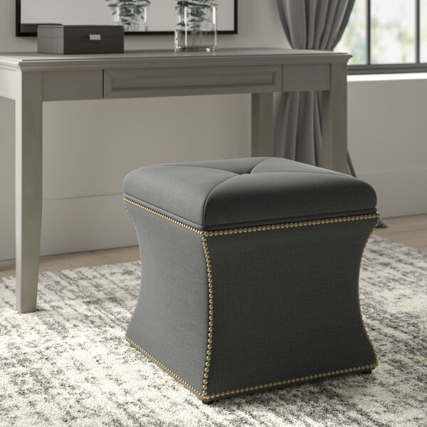 Teri Tufted Storage Ottoman by Greyleigh