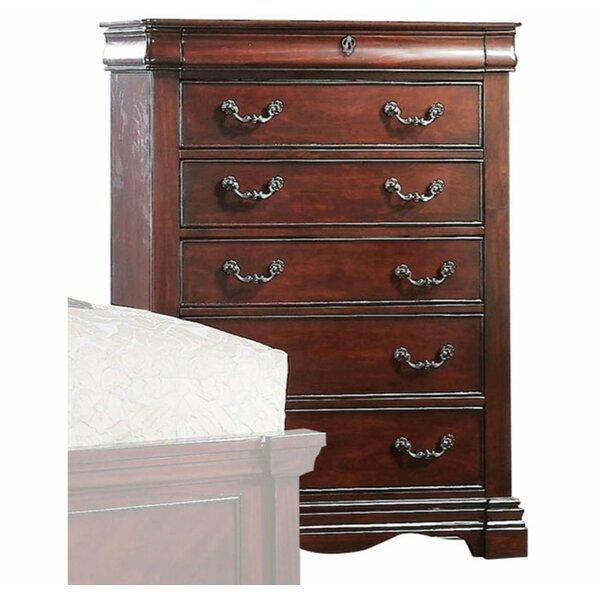 Nedlands 5 Drawers Standard/Chest by Canora Grey