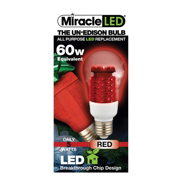 60W LED Light Bulb by Miracle LED