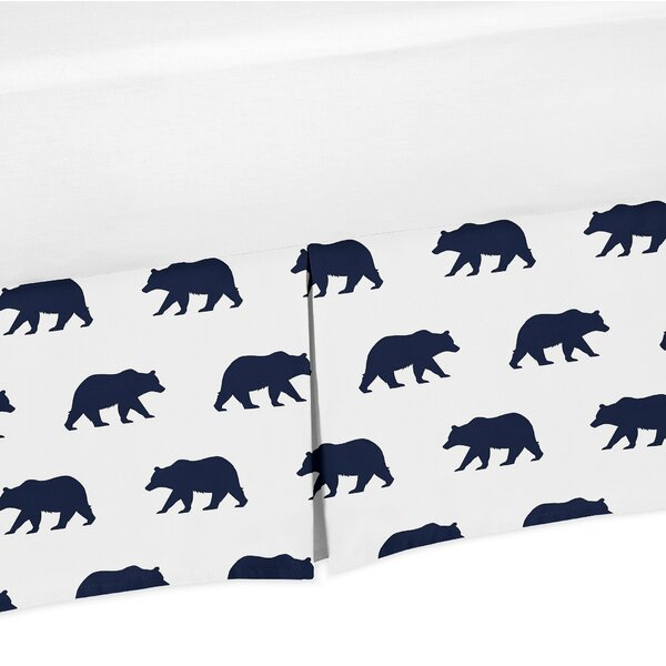 Big Bear Toddler Bed Skirt by Sweet Jojo Designs