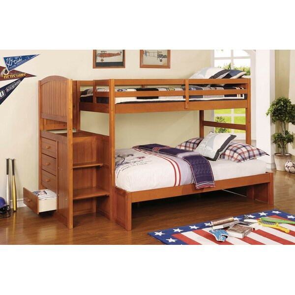 Moses Twin Over Full Bunk Bed by Harriet Bee