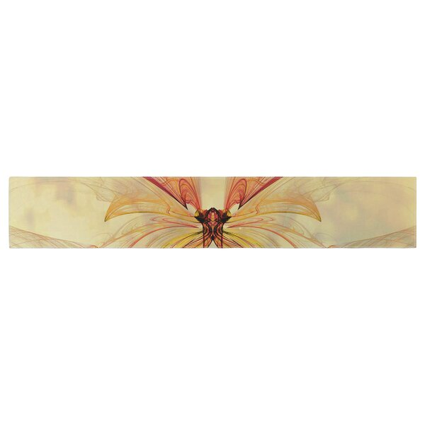Alison Coxon Papillon Table Runner by East Urban Home