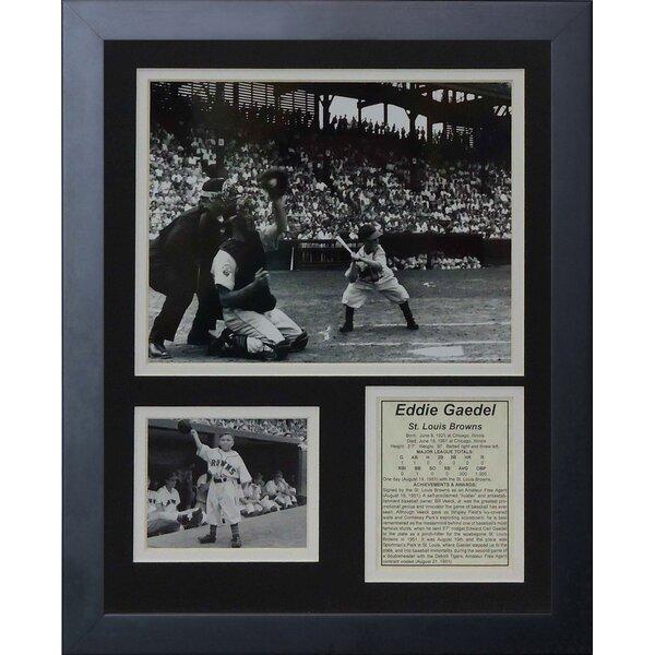 Eddie Gaedel Framed Memorabilia by Legends Never Die