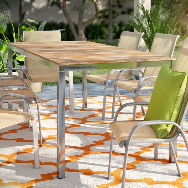 Wood Dining Table By Home Etc