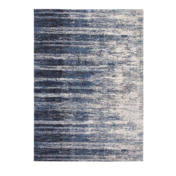 Teasley Blue/Ivory Indoor Area Rug by Brayden Studio