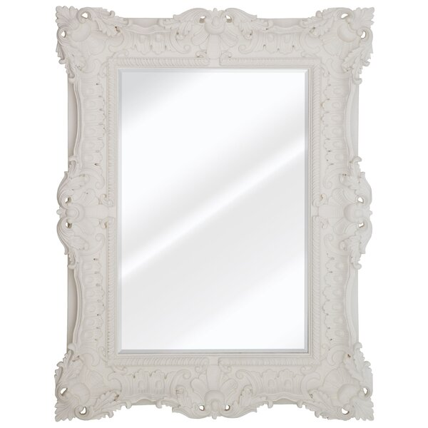 Rectulangular Beveled Wall Mirror by One Allium Way