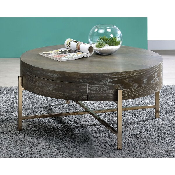 Madilynn Coffee Table with Storage by Mercer41 Mercer41