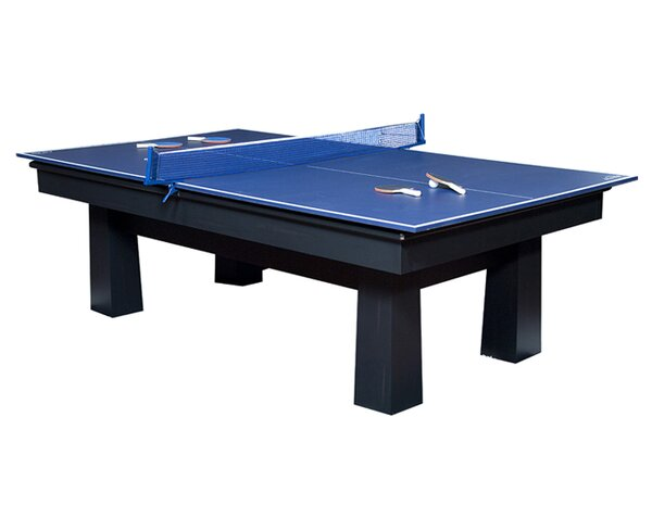 Folding Conversion Top Table Tennis Table by American Heritage