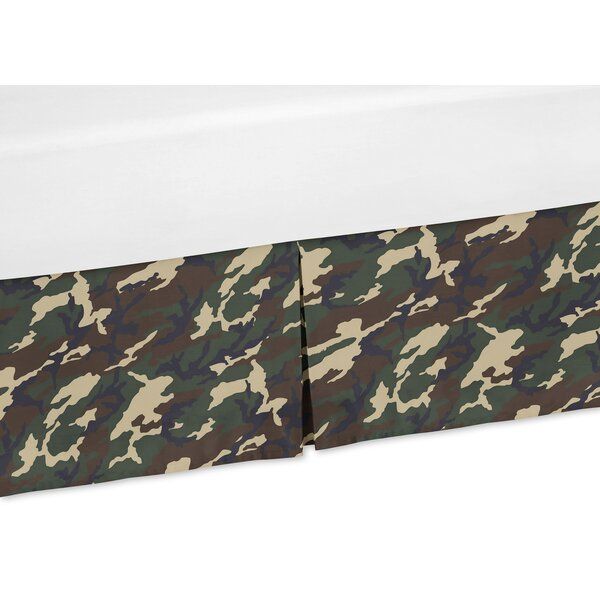 Camo Crib Skirt by Sweet Jojo Designs