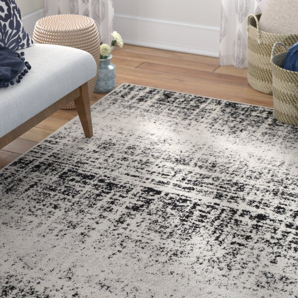 Costa Mesa Gray/Black Area Rug by Trent Austin Des