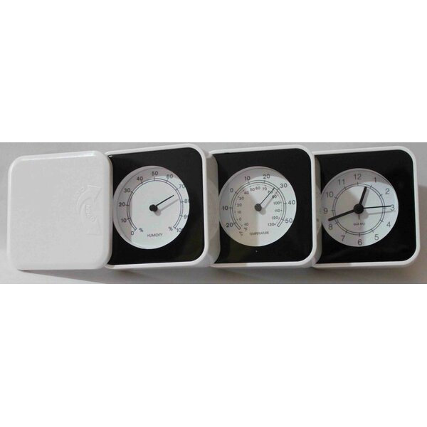 3-in-1 Table Clock by Creative Motion
