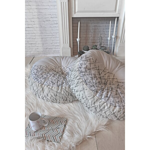 Brook Floor Pillow by Mercury Row
