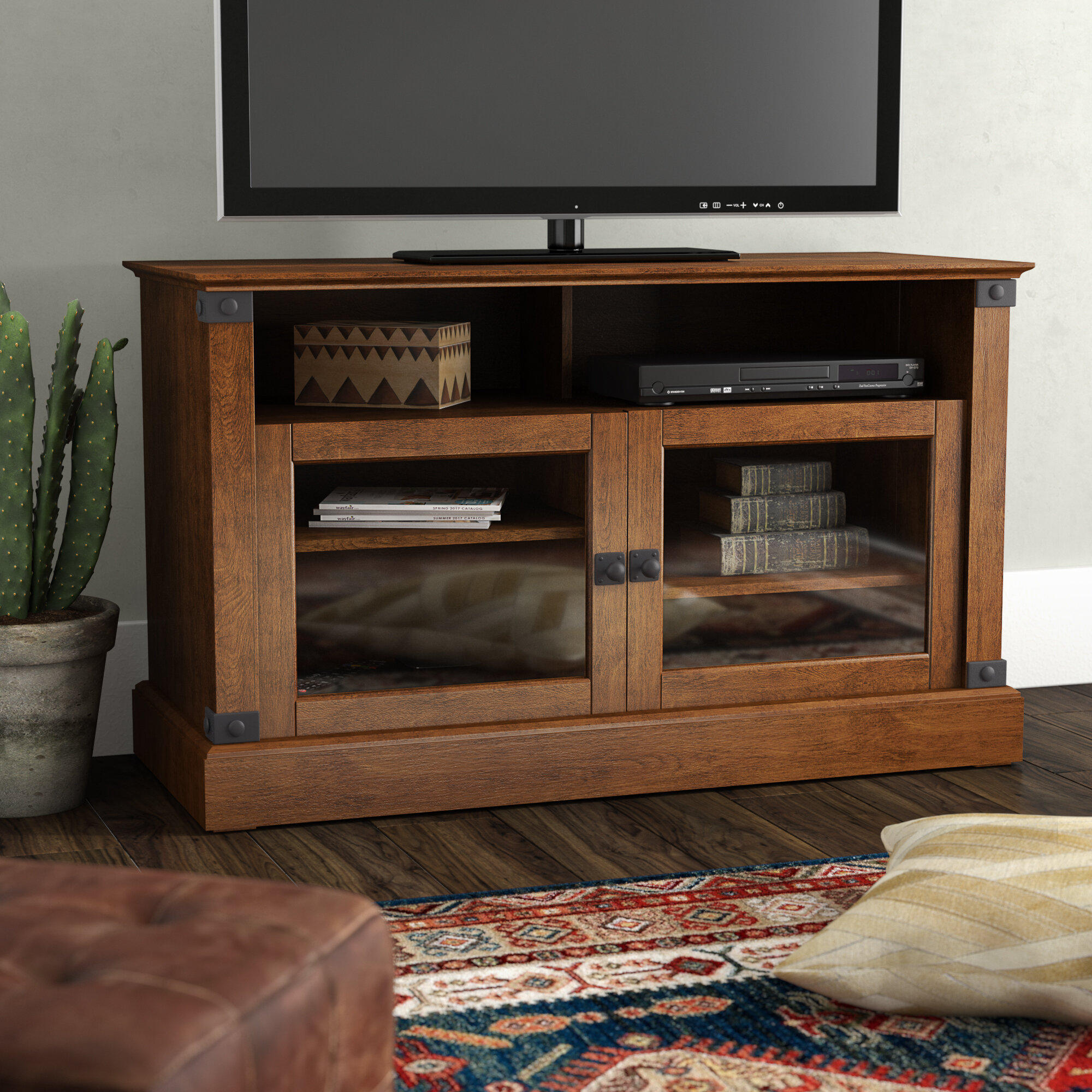 Trent Austin Design Chantrell Tv Stand For Tvs Up To 49 Reviews Wayfair