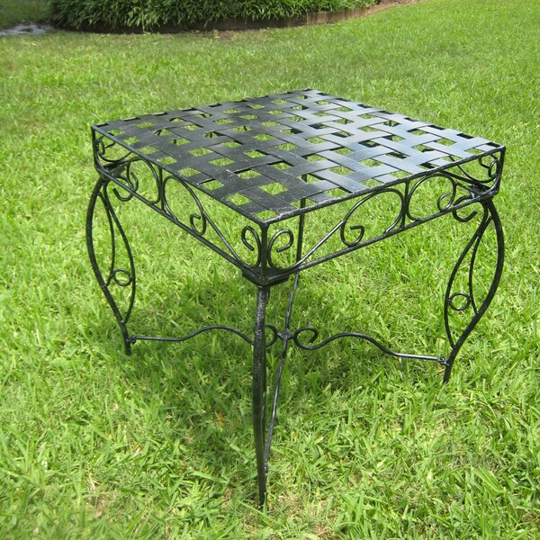 Abbottsmoor Metal Side Table by Darby Home Co
