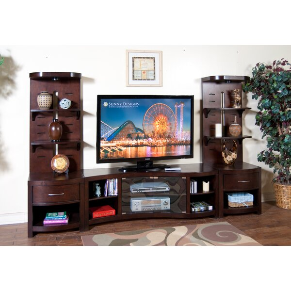 Espresso Entertainment Center by Sunny Designs