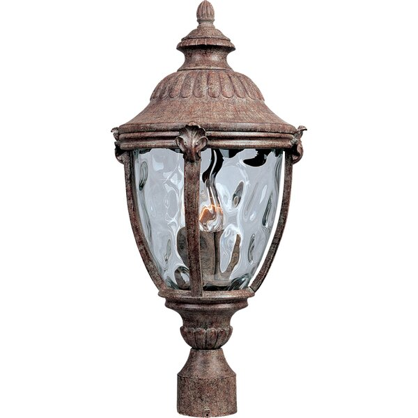 Velma Cast Outdoor 3-Light Lantern Head by Fleur De Lis Living