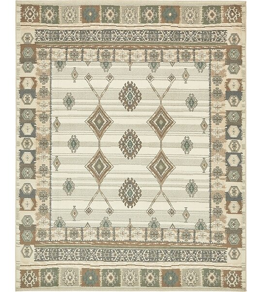 Giovanni Ivory Area Rug by Loon Peak