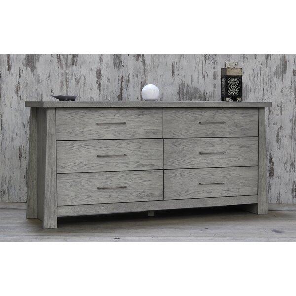 Emery 6 Drawer Double Dresser by Loon Peak