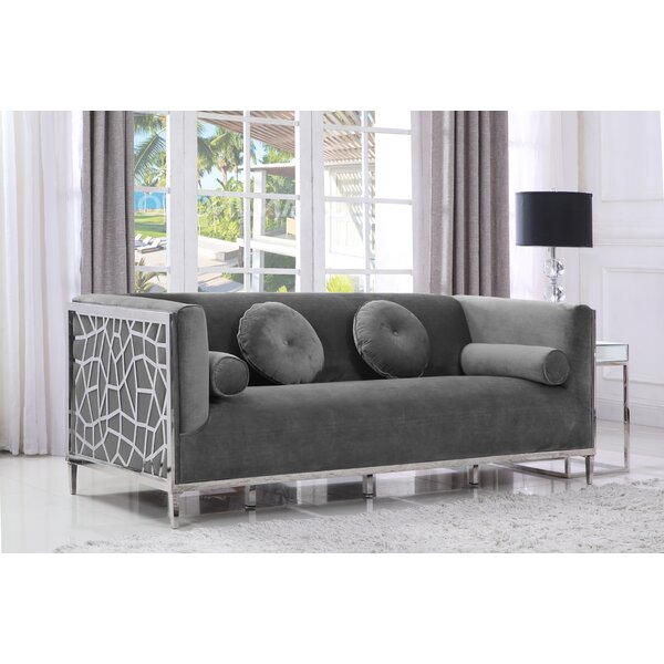 Buy Online Discount Pamela Sofa by Everly Quinn by Everly Quinn