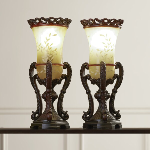 Plaza Athene 21.25 Table Lamp (Set of 2) by Astoria Grand