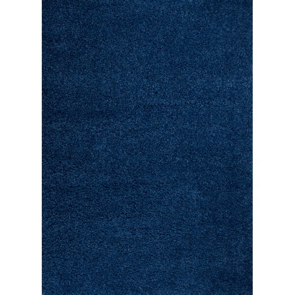 Steverson Navy Blue Area Rug by Ebern Designs