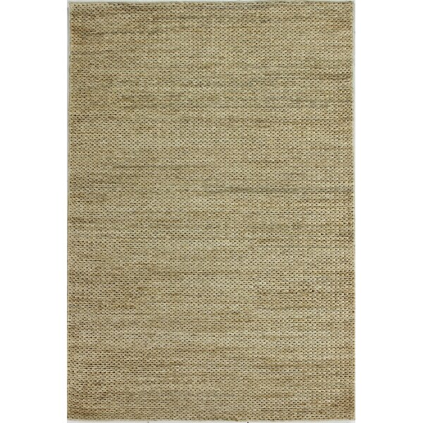 Deklan Hand-Woven Natural Area Rug by Bungalow Rose