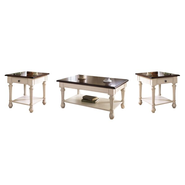 Demaree 3 Piece Coffee Table Set by Darby Home Co