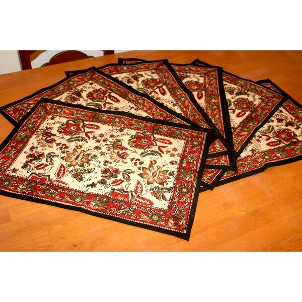 Jaipur Autumn Placemat (Set of 6) by HOMESTEAD J.E.GARMIRIAN AND SON INC