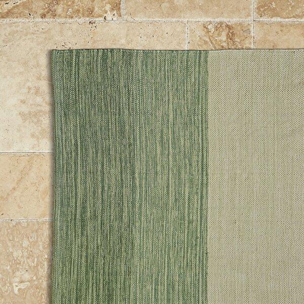 Jaya Leaf Hand-Woven Area Rug by Birch Lane™
