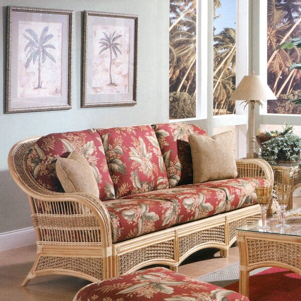 Sofa By Spice Islands Wicker Sale
