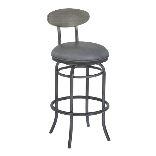 Meggie 30 Swivel Bar Stool by 17 Stories