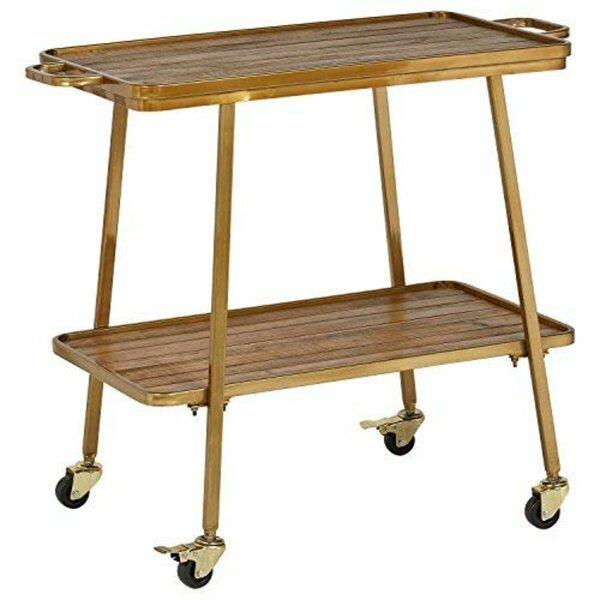 Felix 2 Tier Bar Cart By Adore Decor