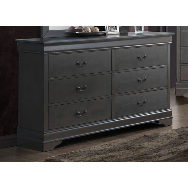 Kepley Contemporary 6 Drawer Double Dresser by Three Posts