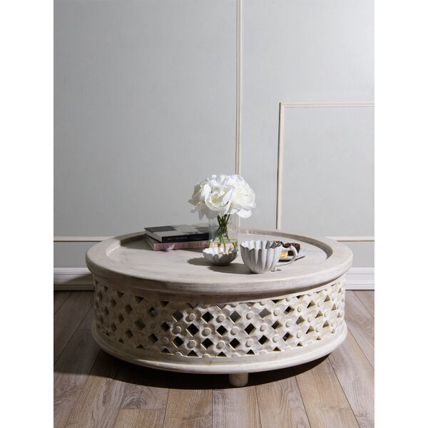 Kayley Wood Coffee Table by Ophelia & Co. Ophelia & Co.