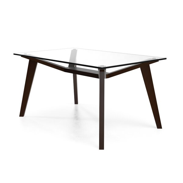 Cooper Solid Wood Dining Table by Modern Rustic Interiors