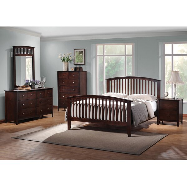 Flint Standard Bed by Winston Porter