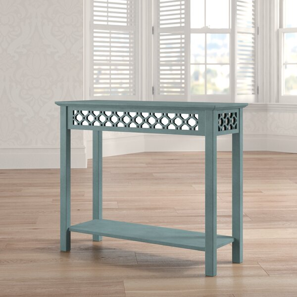 Cockrell Hill Console Table with Mirror by Bungalow Rose