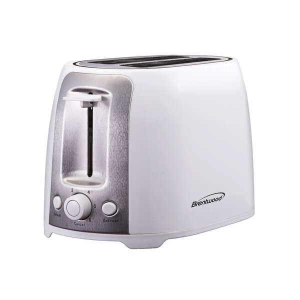 2 Slice Cool Touch/Wide Slot Toaster by Brentwood Appliances