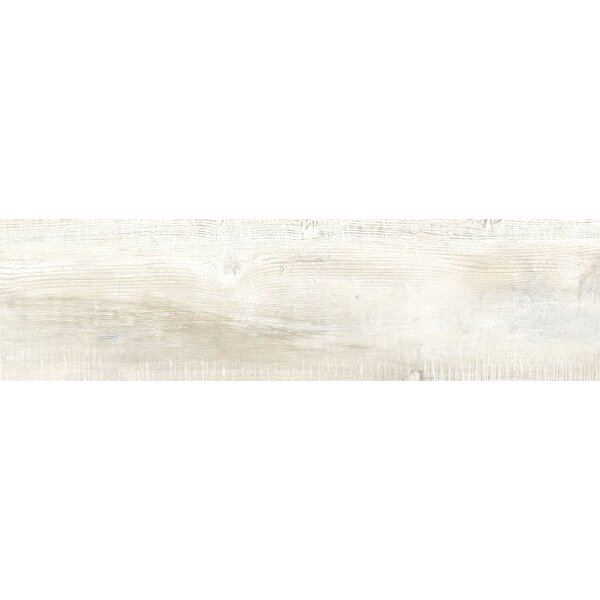 Bowmore 12 x 48 Porcelain Wood Look Tile in Aspen by The Bella Collection
